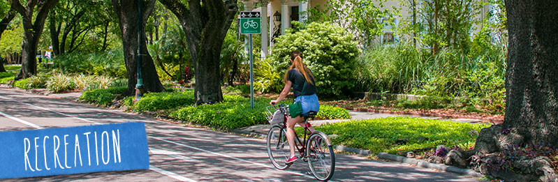 Bike Routes in New Orleans