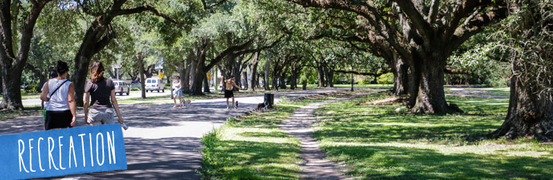 Jogging And Walking In New Orleans Best Places To Go For A Run Or Walk
