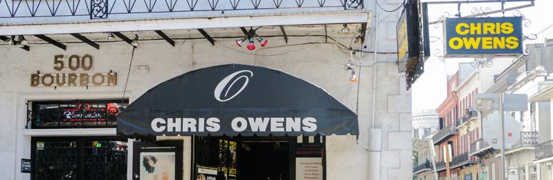 Chris Owens Club New Orleans Nightlife Venue