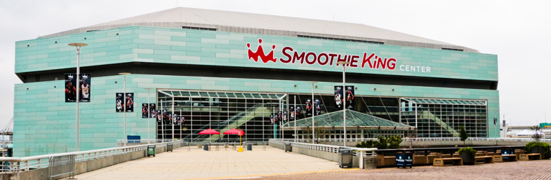 Smoothie King Center | New Orleans | Attraction on quiznos map, krispy kreme map, cici's pizza map, ihop map, fazoli's map, taco bell map, in-n-out burger map, chick-fil-a map, mcdonald's map, dairy queen map, carl's jr map, panera bread map, safeway map,
