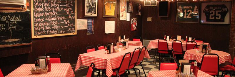 frankie johnny s new orleans restaurant