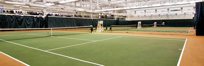 Hilton Indoor Tennis Courts New Orleans Attraction