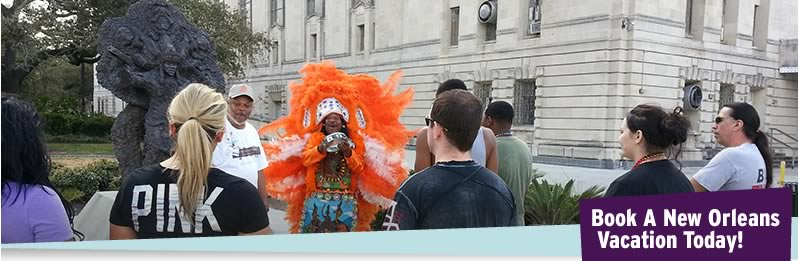 Treme and Mardi Gras Indian Cultural Tour