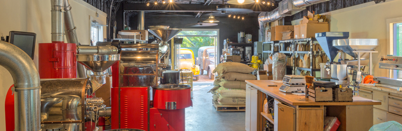 French Truck Coffee Shop