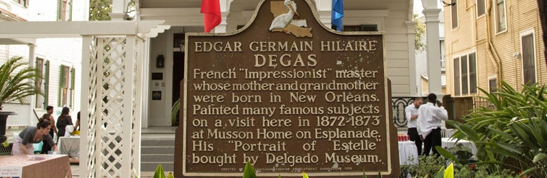 The Edgar Degas House Creole Impressionist Tour