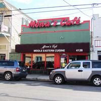 Mona S Cafe Magazine Street
