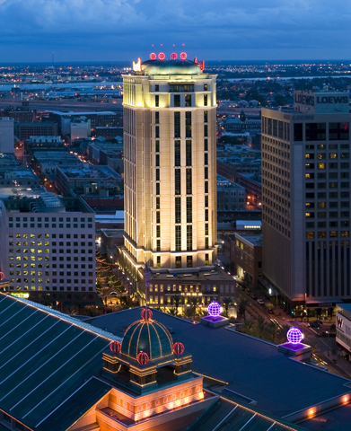 New Orleans Hotel >> Harrah S New Orleans Hotel New Orleans Hotel Place Of Lodging