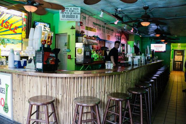 tropical isle bayou club