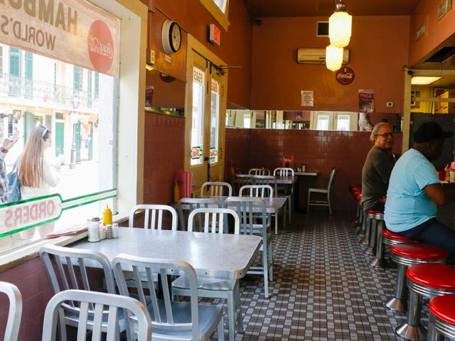 Clover Grill New Orleans Restaurant