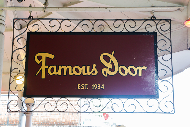The Famous Door New Orleans Nightlife Venue