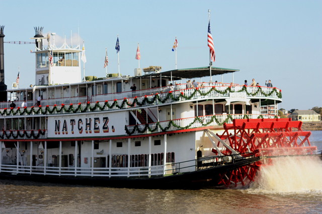 Steamboat Natchez New Orleans Attraction