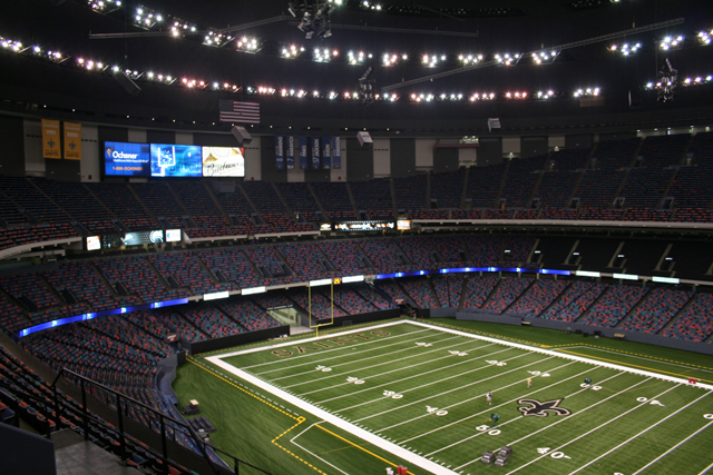 the mercedes-benz superdome | new orleans | attraction