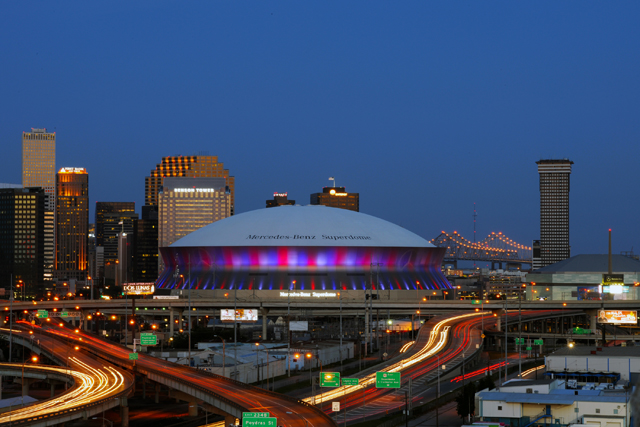 The mercedes benz superdome new orleans attraction for Mercedes benz new orleans