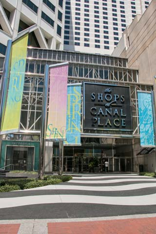 Canal Place New Orleans Shopping