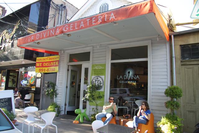 La Divina Gelateria New Orleans Restaurant