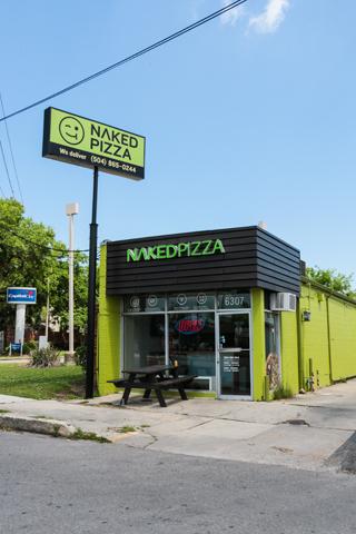 Naked Pizza New Orleans Restaurant
