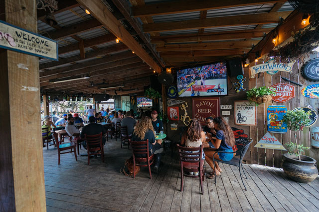 Image result for bayou beer garden