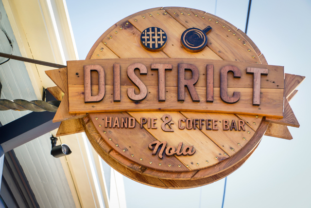 District Hand Pie And Coffee Bar New Orleans Restaurant