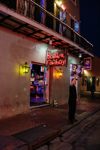 Bourbon Cowboy | New Orleans | Nightlife Venue