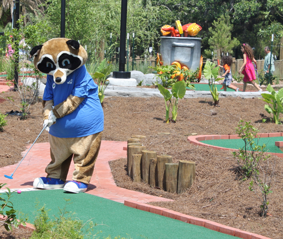 City putt new orleans attraction for Garden city mini golf
