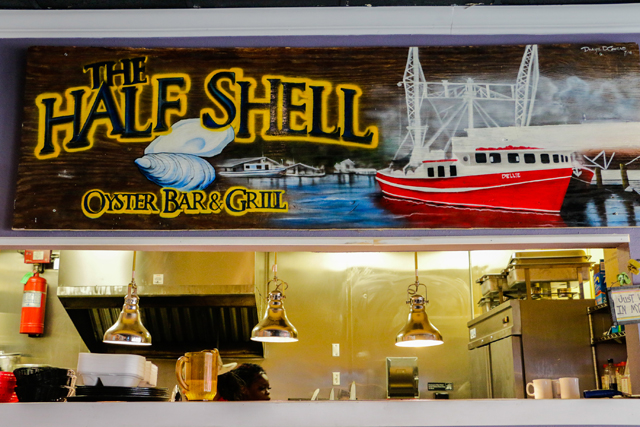 the half shell oyster bar and grill