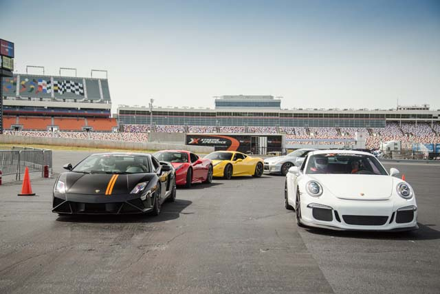Xtreme xperience new orleans attraction for Charlotte motor speedway zip code