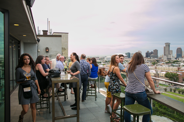 Hot Tin Rooftop Bar New Orleans Nightlife Venue