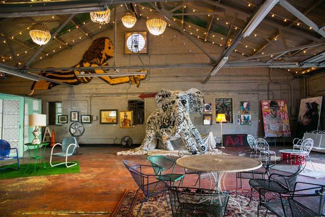 Art garage new orleans attraction for Garage ad orleans