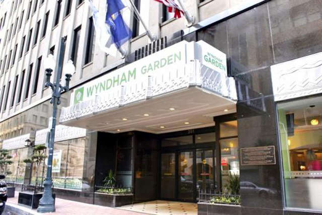 Wyndham Garden Baronne Plaza Hotel New Orleans Hotel Place Of Lodging