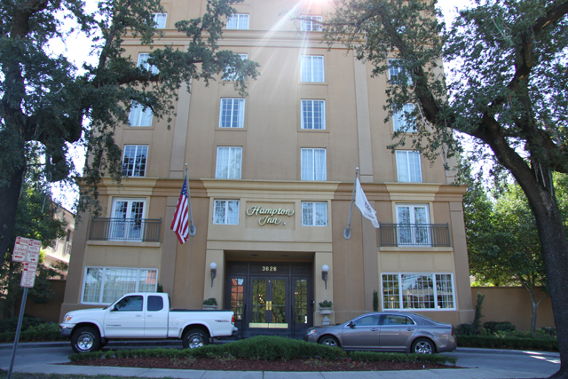Hampton Inn Garden District New Orleans Hotel Place Of Lodging