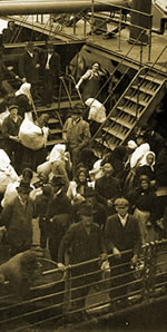 Irish Immigrants sailed to New Orleans