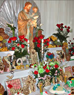 St. Joseph's Day Alter