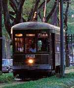 The St. Charles Streetcar in New Orleans
