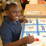 Kidsmart teaches kids positive life skills through the arts.