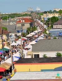 New Orleans Freret Street Freret Street Festival