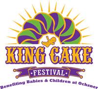 Image result for king cake festival logo