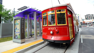 Streetcars In New Orleans Map.New Orleans Maps And Transportation