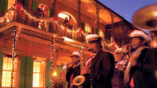 Christmas in New Orleans for the Holiday Season