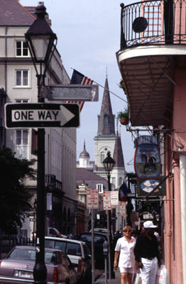 French Quarter, New Orleans. Photo from New Orleans Online.