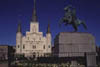 St. Louis Cathedral & Monument of Andrew Jackson