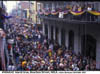 Mardi Gras on Bourbon Street
