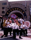 Brass Band in Front of The Riverwalk