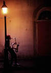 Sax Player in the French Quarter