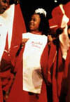 Girl in Gospel Choir