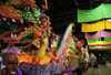 The Leviathan Super Float at Mardi Gras World