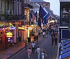 Bourbon Street in the French Quarter